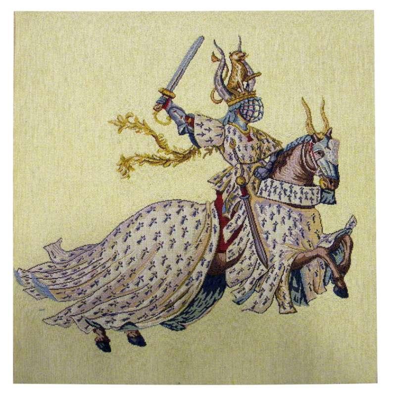 Duc De Bretagne French Tapestry Cushion