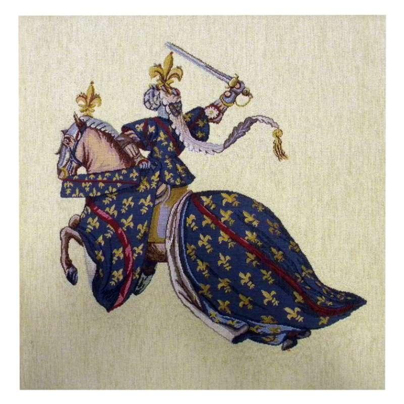 Duc De Bourbon French Tapestry Cushion