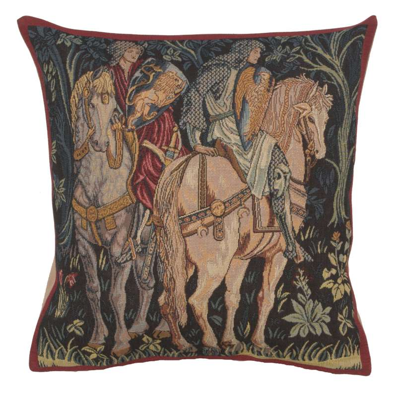 Knights of Camelot French Tapestry Cushion