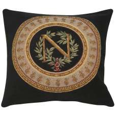 Napoleon Geais French Tapestry Cushion