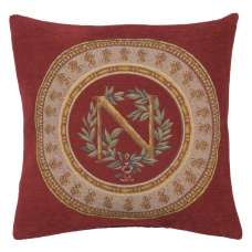 Napoleon Rouge French Tapestry Cushion