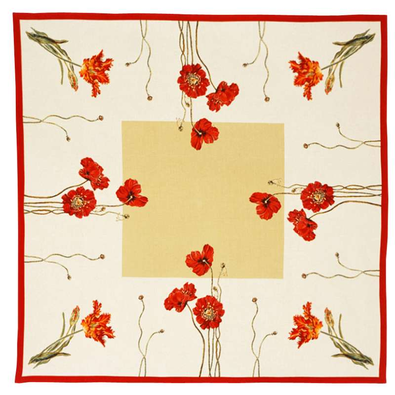 Cle Des Champs French Tapestry Throw