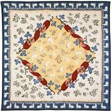 Medieval Potiron French Tapestry Throw