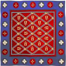 Sainte Chapelle French Tapestry Throw