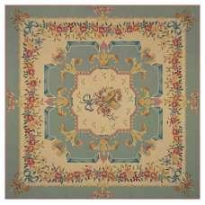 Divertissement Vert French Tapestry Throw
