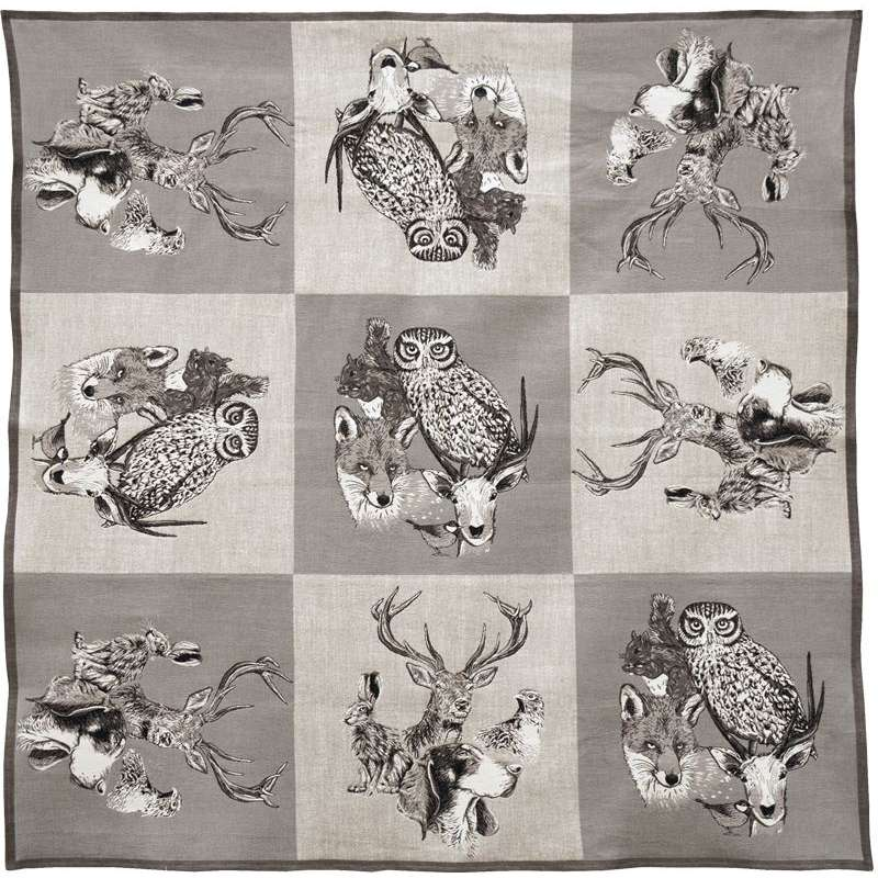 The Forest French Tapestry Throw