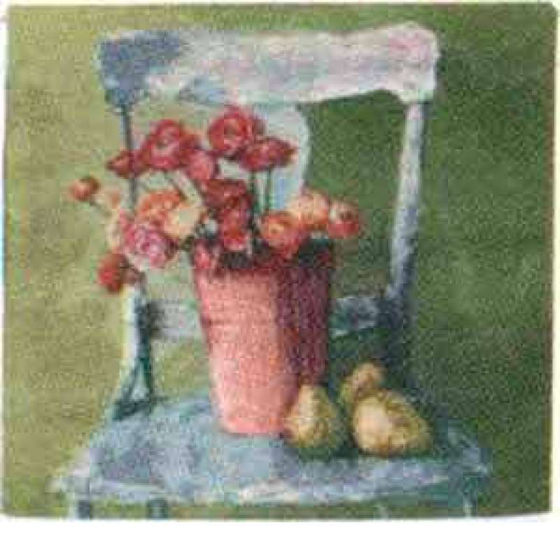 Painted Chair Fine Art Tapestry