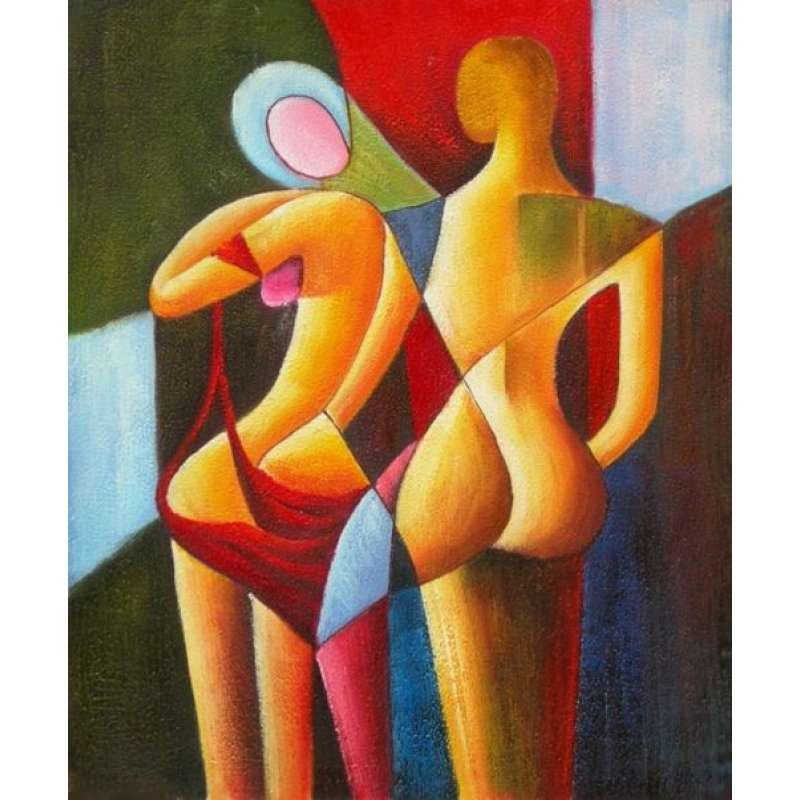 Drawn Together Canvas Oil Painting