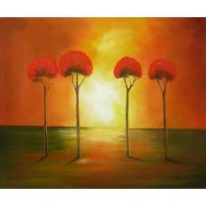 Stand Tall Together Canvas Wall Art
