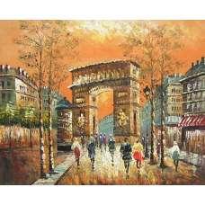 The Arc de Triomphe Canvas Wall Art