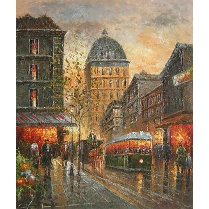 Paris Delights Canvas Wall Art