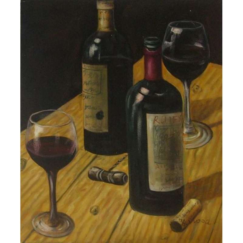 Uncorked Canvas Wall Art