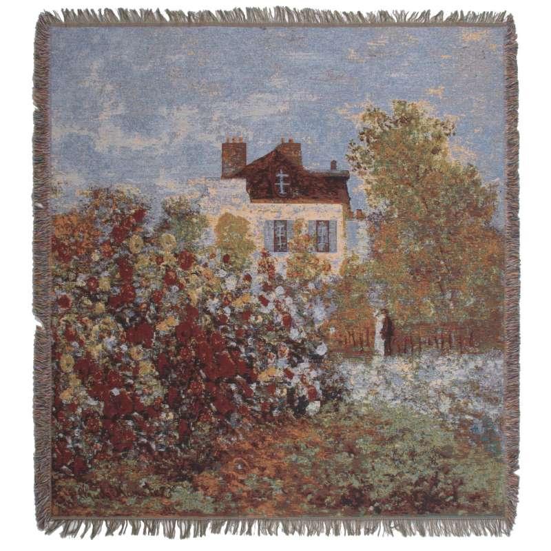 Monet's Maison European Throw