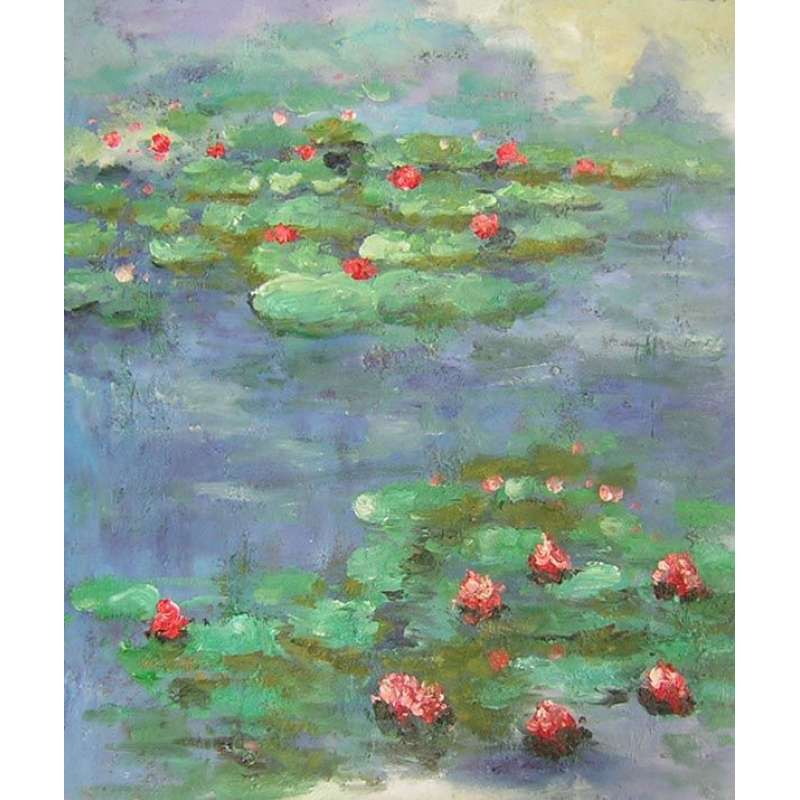 Water Lilies by Monet Canvas Wall Art