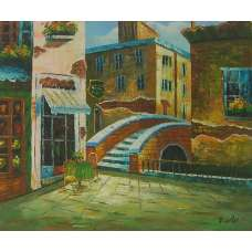 Venetian Terrace Canvas Wall Art