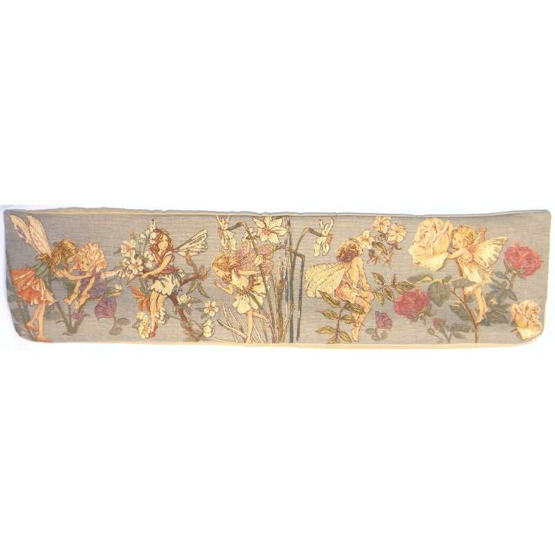 Cicely Mary Barker Fairy  Belgian Bolster Pillow Cover