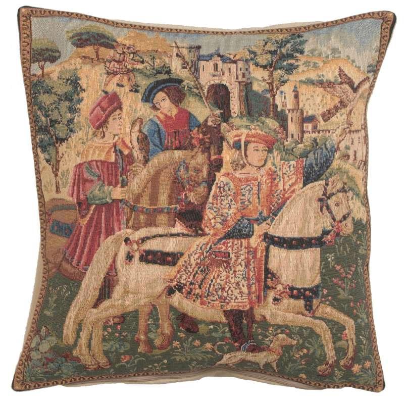 Hawking Scene European Cushion Cover