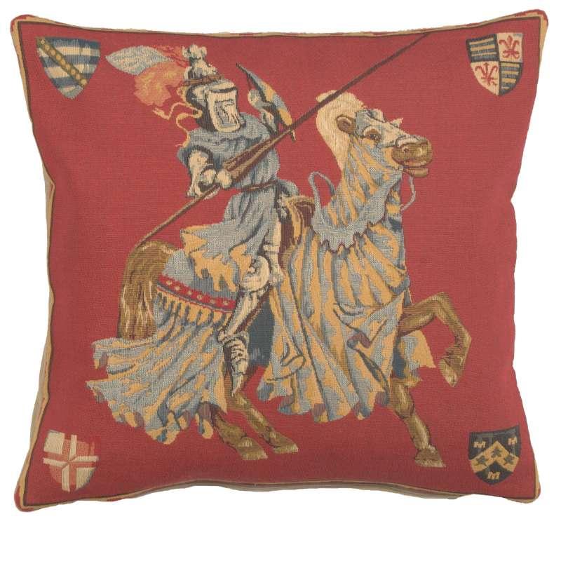 Blue Knight European Cushion Cover