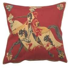 Red Knight European Cushion Covers