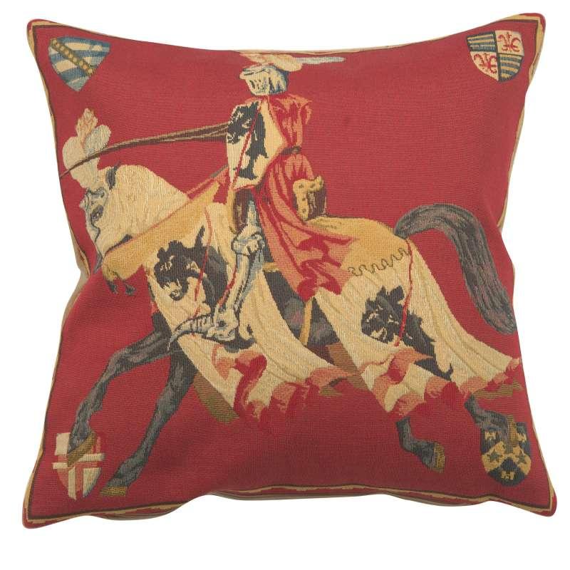 Red Knight European Cushion Cover
