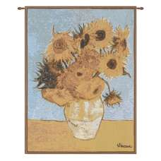 Van Gogh Sunflowers French Tapestry