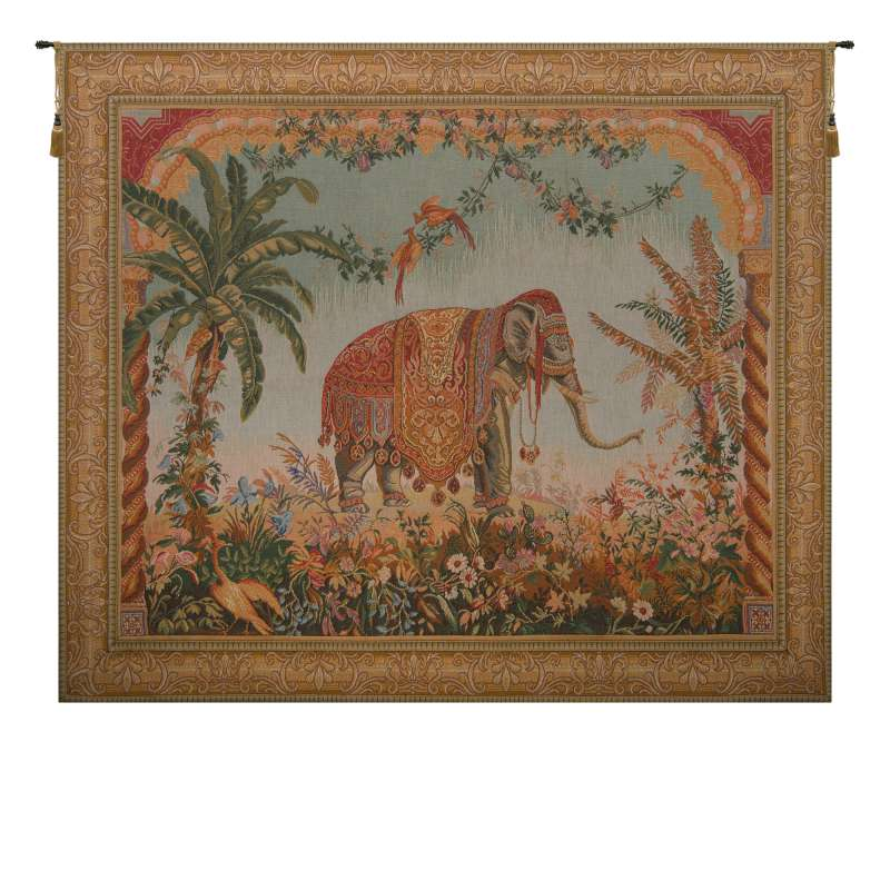 Royal Elephant French Tapestry