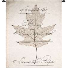 Birch Document Fine Art Tapestry
