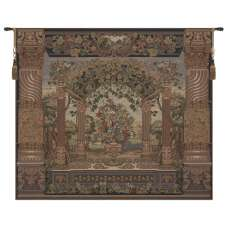 Floral Pergola Tapestry Wall Hanging