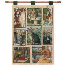 Kitty Corner Fine Art Tapestry