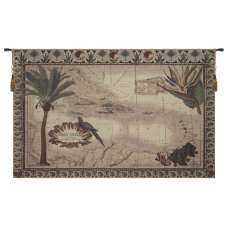Map of West Indies Tapestry Wall Hanging