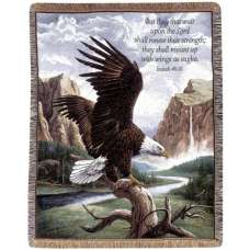 Freedom w/Verse II Tapestry Throw