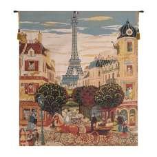 Eiffel Naif European Tapestry
