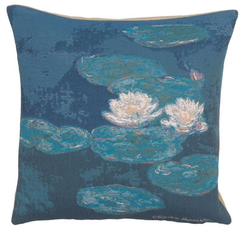 Monets Lily Pads European Cushion Cover