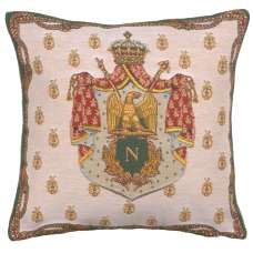 Napoleon Crest European Cushion Cover