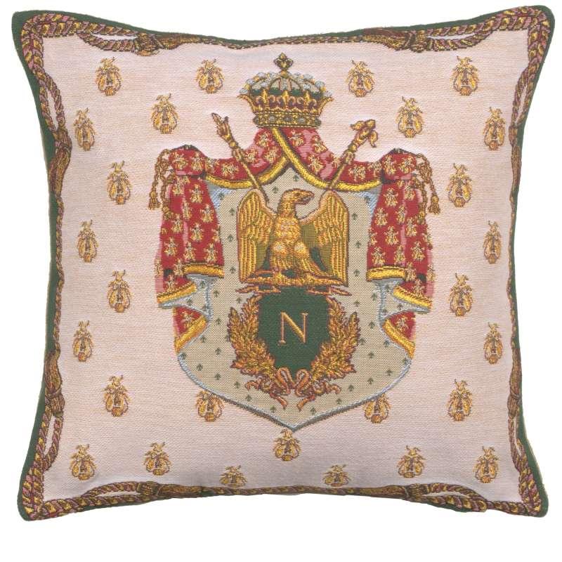 Napoleon Crest European Cushion Cover