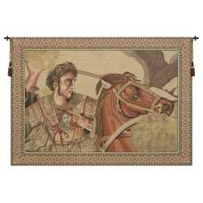 Alexander The Great Italian Tapestry Wall Hanging