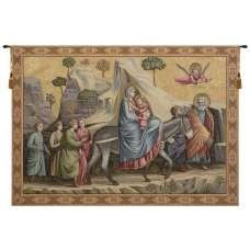 Flight into Egypt Italian Tapestry Wall Hanging