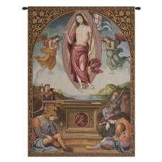 Resurrection Italian Tapestry Wall Hanging