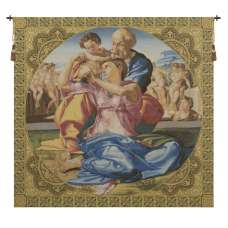 Sacred Family Italian Tapestry Wall Hanging
