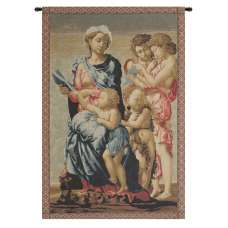 Madonna from Manchester Italian Tapestry Wall Hanging