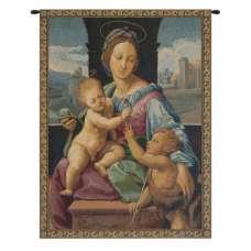 Madonna Aldobrandini by Raphael Italian Tapestry Wall Hanging