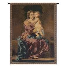 Madonna del Rosario Italian Tapestry Wall Hanging