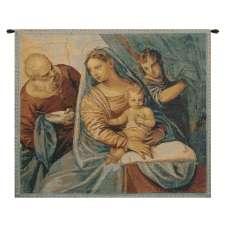 Madonna della Pappa Italian Tapestry Wall Hanging