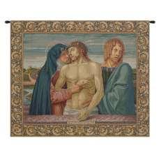 Pieta Italian Tapestry Wall Hanging
