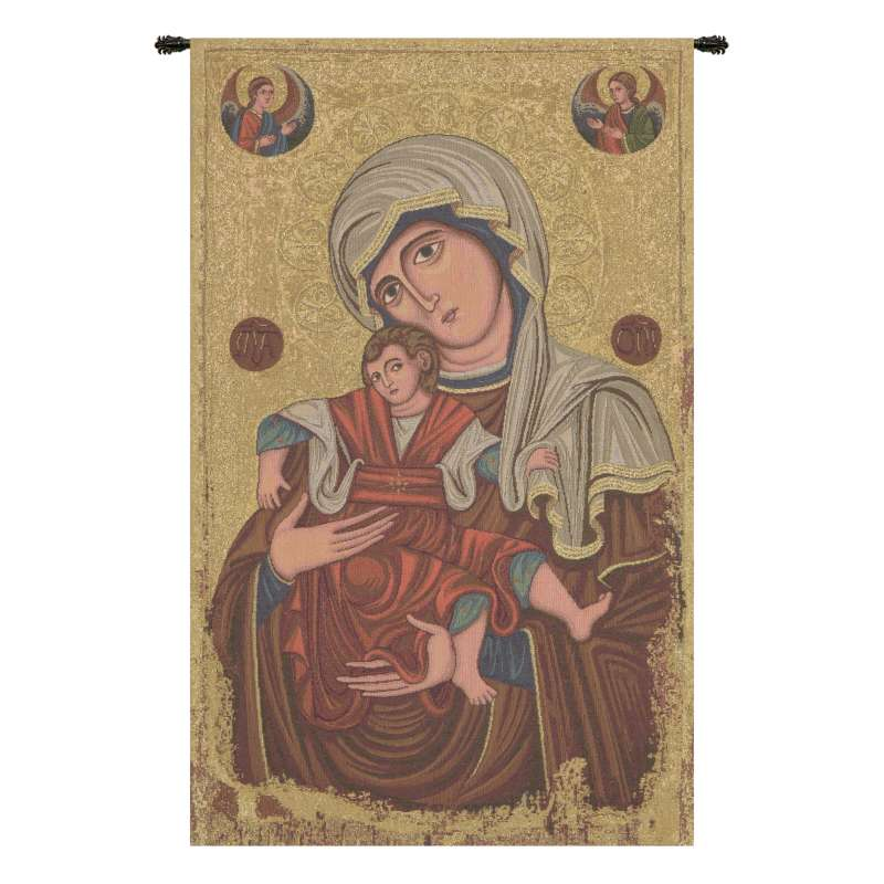 Madonna Delle Vittorie Italian Tapestry Wall Hanging