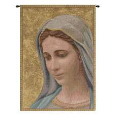 Madonna di Medjugorie Italian Tapestry Wall Hanging