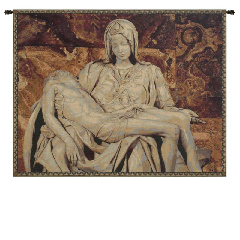 The Deposition Italian Tapestry Wall Hanging