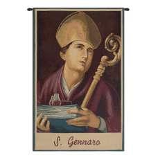 St. Gennaro Italian Tapestry Wall Hanging