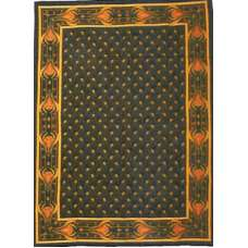 Indian Art Chenille  European Tapestry