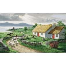 Irish Countryside Grande Tapestry Wall Hanging